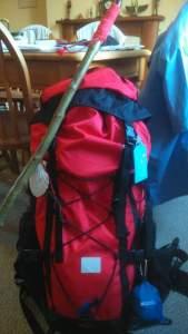 The Pilgrim's pack